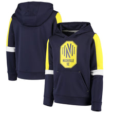 Load image into Gallery viewer, NSC Youth Fanatics Goalkeeper Pullover Hoodie - Nvy
