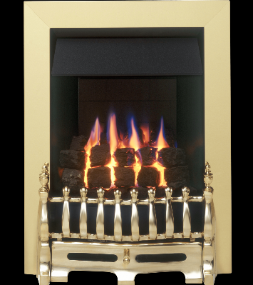 Brass Gas Fire