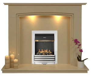 Ashbourne Electric E2 Package - bespokemarblefireplaces