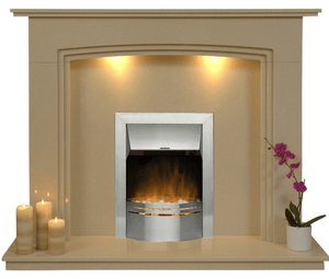 Ashbourne Electric E1 Package - bespokemarblefireplaces