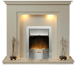 Chesterfield Electric E1 Package - bespokemarblefireplaces