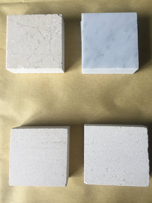 Sample Natural Marble / Limestone Tiles & Brochure