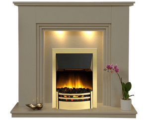 Java Electric E3 Package - bespokemarblefireplaces