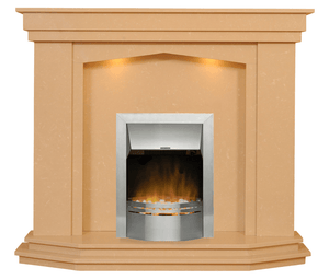 Rossendale Electric E1 Package - bespokemarblefireplaces