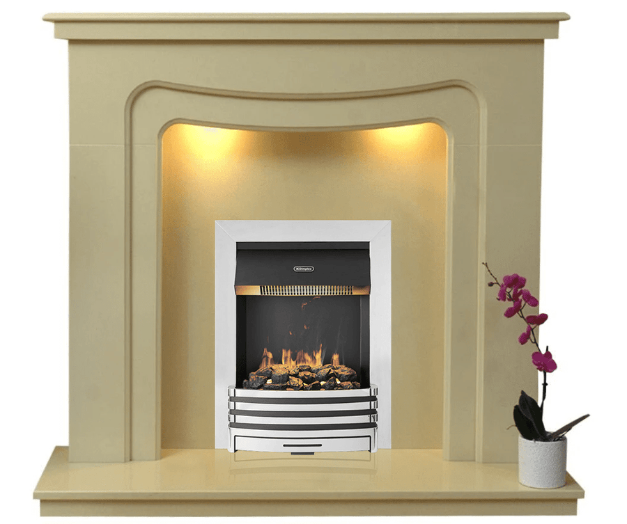 Stratford Electric E2 Package - bespokemarblefireplaces
