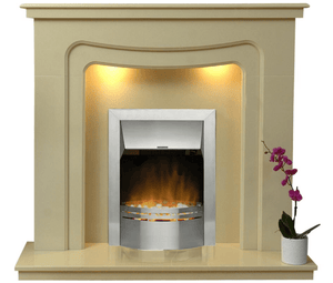 Stratford Electric E1 Package - bespokemarblefireplaces