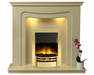 Stratford Electric E3 Package - bespokemarblefireplaces