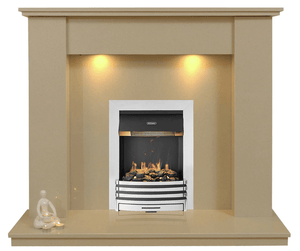Trent Marble Electric E2 Package - bespokemarblefireplaces