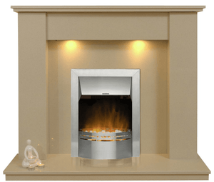 Trent Marble Electric E1 Package - bespokemarblefireplaces