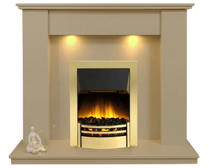 Trent Marble Electric E3 Package - bespokemarblefireplaces