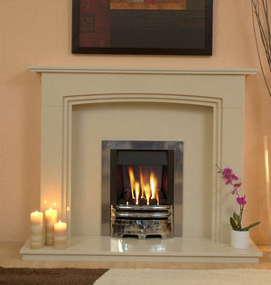 Ashbourne Gas G2 Package - bespokemarblefireplaces