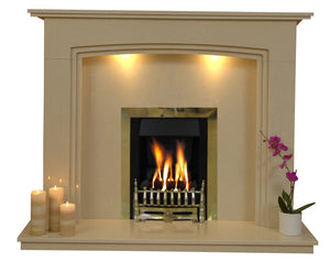 Ashbourne Gas G3 Package - bespokemarblefireplaces