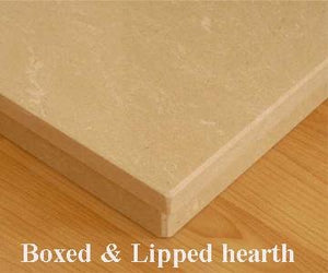Marble 5 Sided Hearth - bespokemarblefireplaces