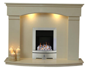 Cambridge Gas G1 Package - bespokemarblefireplaces
