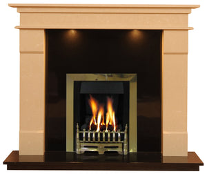Elegance Gas G3 Package - bespokemarblefireplaces
