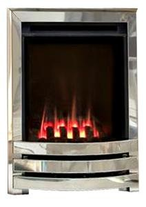 HE G22 Chrome Gas Fire - bespokemarblefireplaces