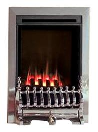 HE G23 Chrome Gas Fire - bespokemarblefireplaces