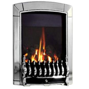 HE G4 Chrome Gas Fire - bespokemarblefireplaces