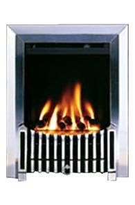 BF8 Chrome Gas Fire - bespokemarblefireplaces