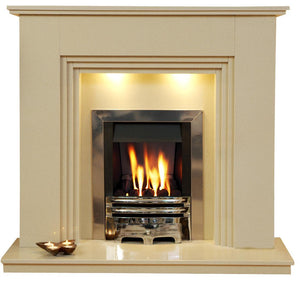 Java Marble Fireplace Hearth & Back Panel - bespokemarblefireplaces