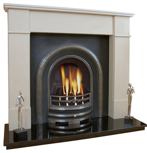 Knightsbridge Victorian Marble Fireplace & Hearth - bespokemarblefireplaces