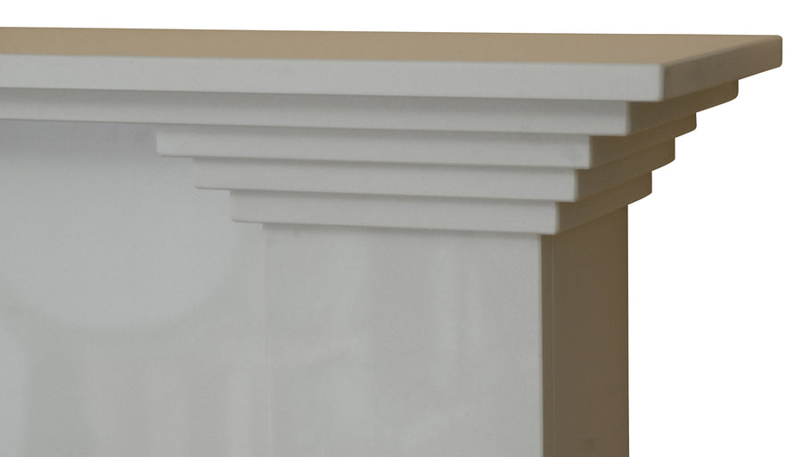 Hamilton Marble Fireplace Hearth & Back Panel