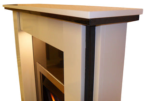 Marble Fireplace Lynford Surround Shelf Design- bespokemarblefireplaces