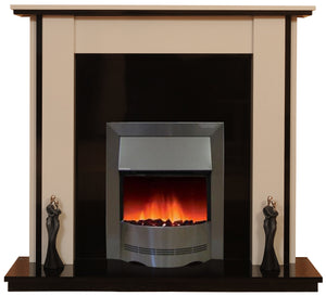 Lynford Electric E1 Package - bespokemarblefireplaces