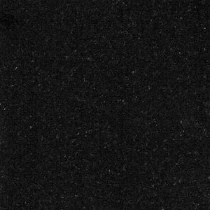 Black Granite Back Panel Solid Fuel colour - bespokemarblefireplaces