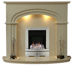 Shelbourne Gas G1 Package - bespokemarblefireplaces