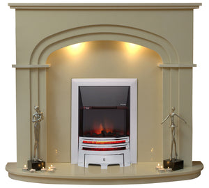 Shelbourne Electric E2 Package - bespokemarblefireplaces