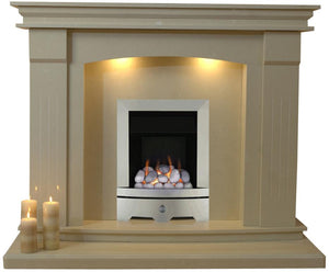 Sheridan Gas G1 Package - bespokemarblefireplaces