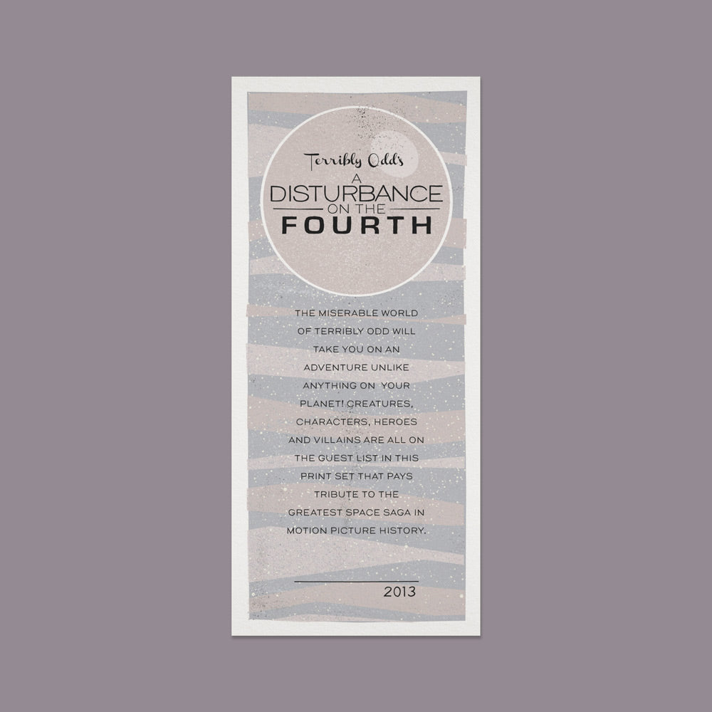 A Disturbance on the Fourth - Description Card