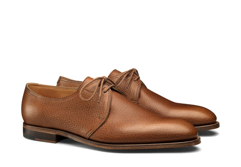 Derby Two Eyelet - Tan
