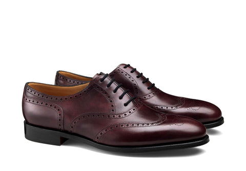 Oxford Full Brogue - Dark Brown