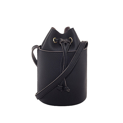 Ansley Bucket Bag - Black