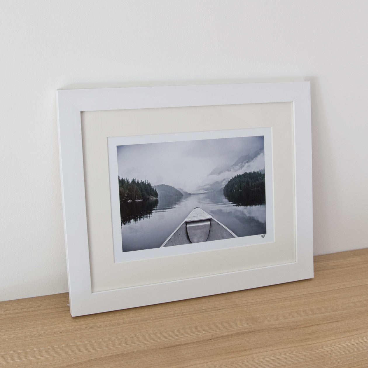 Framed Photograph - On The Lake