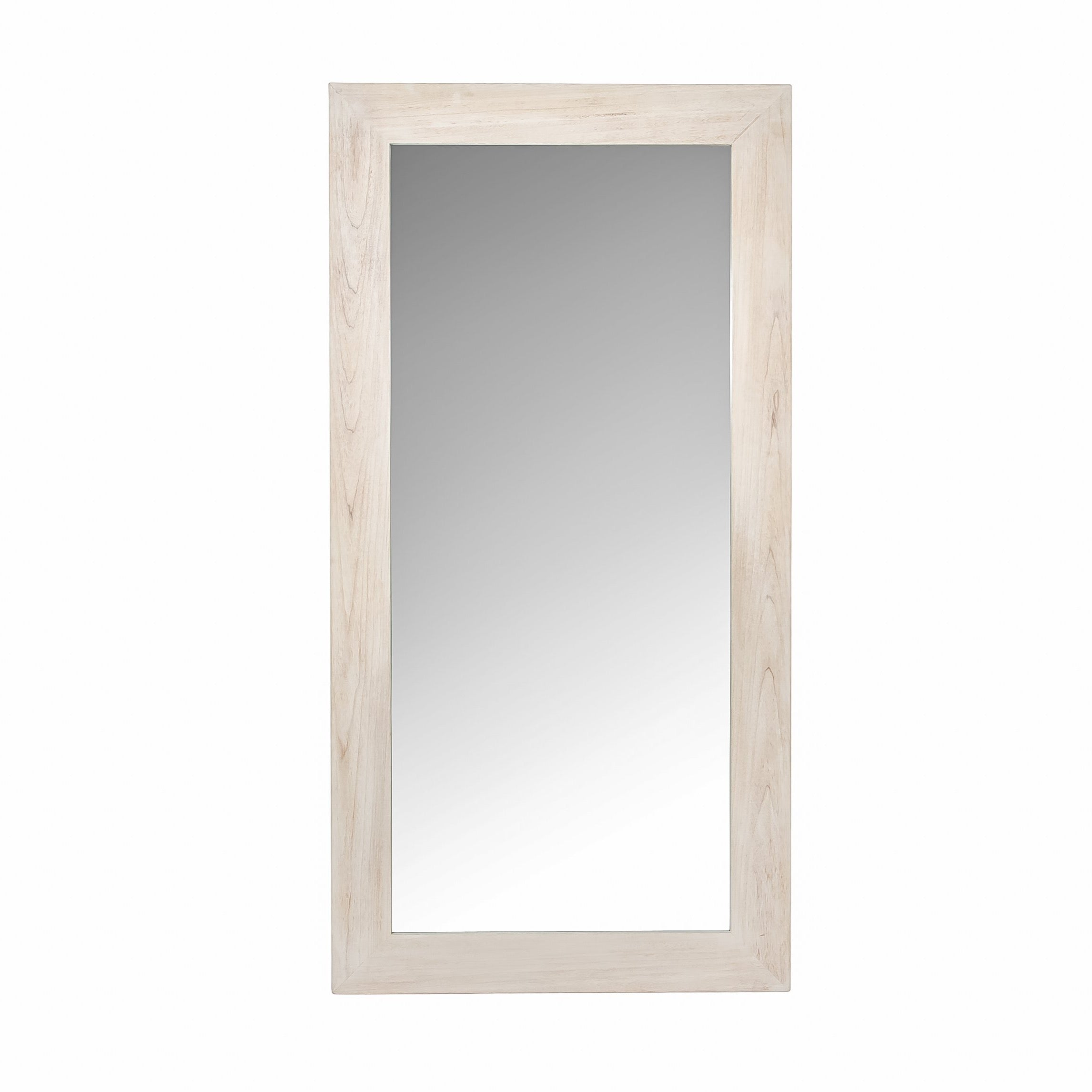 Bohemian Floor Bristol Mirror - Light Oak