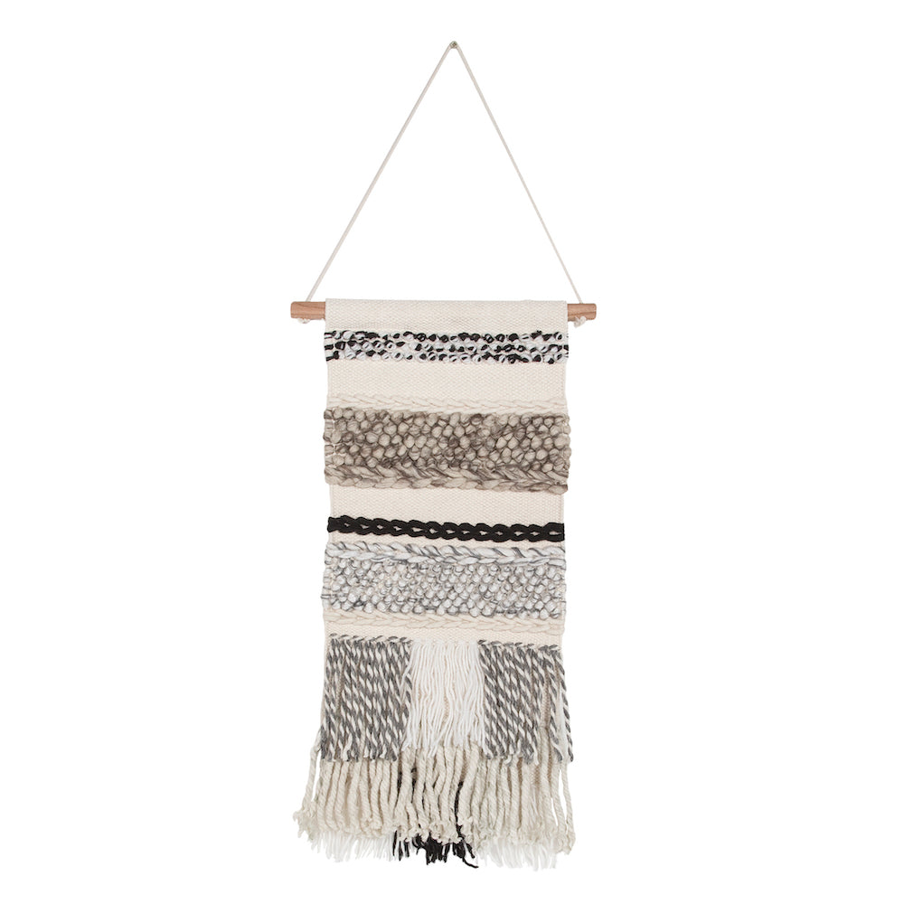Bohemian Paris Macrame Wall Hanging
