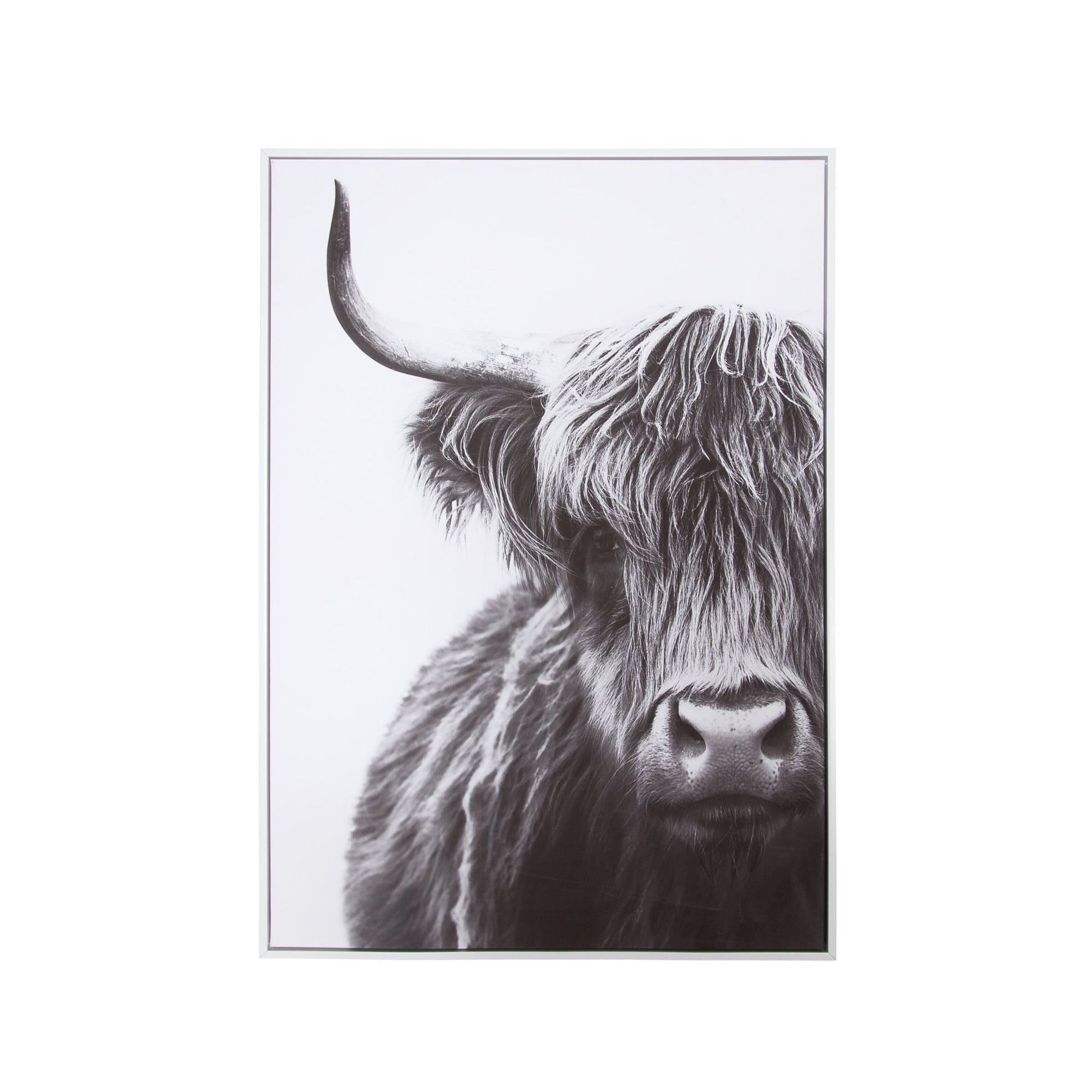 Canvas Yak Wall Decor