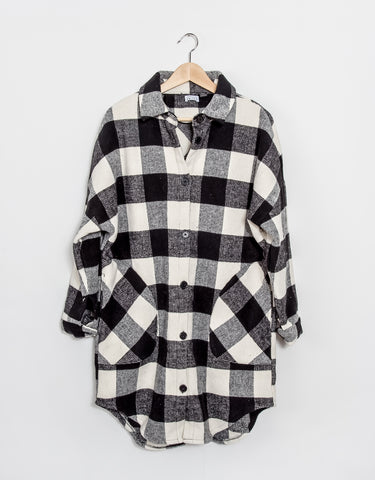 Taylor Jacket - Black + White