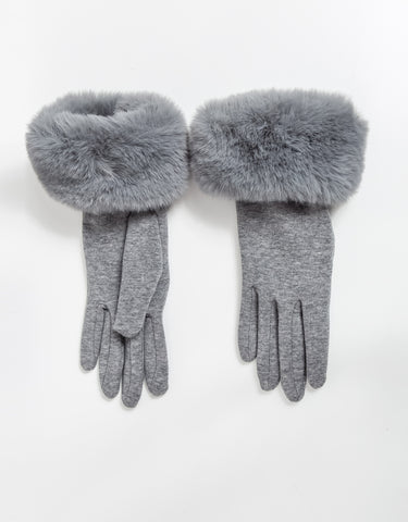 Demi Gloves - Gray