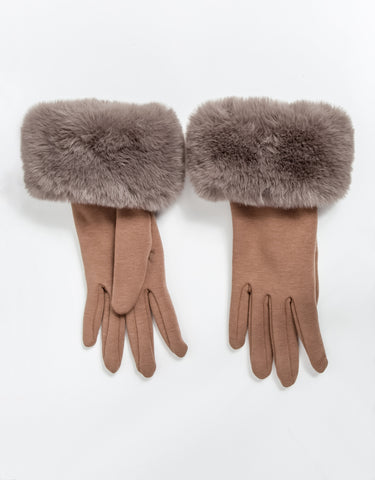 Demi Gloves - Taupe