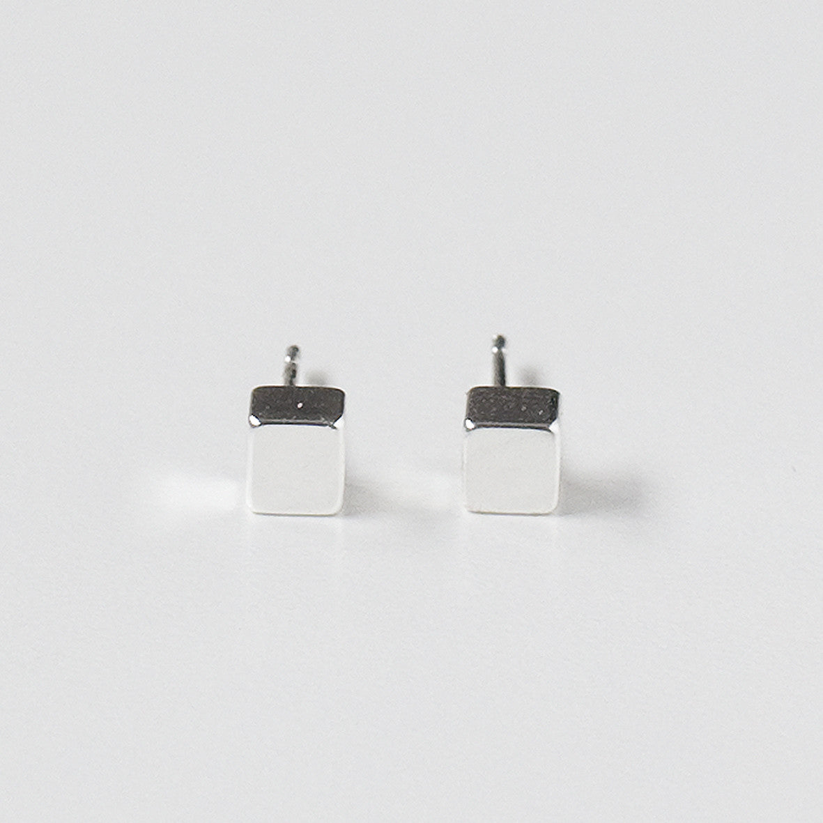 Bloc Earrings - Silver