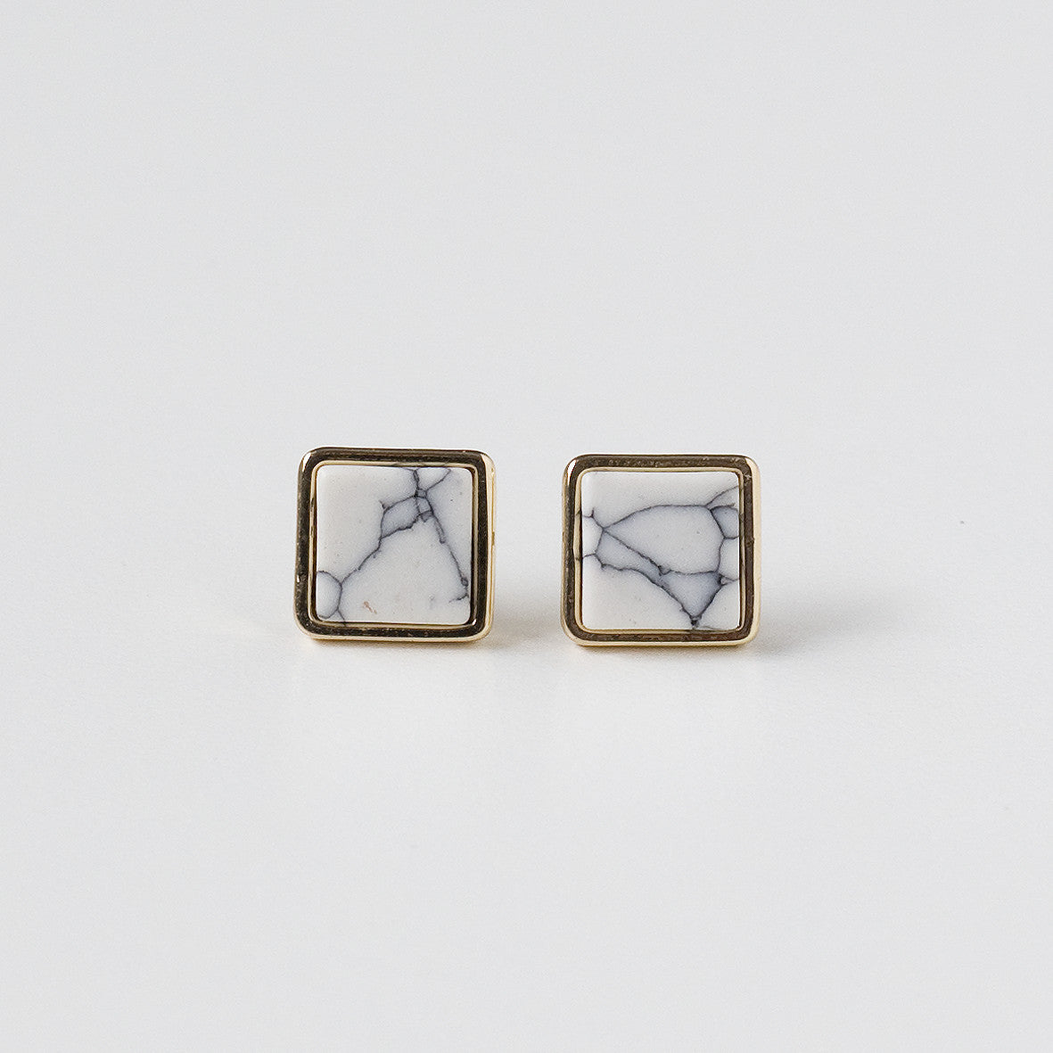 Ore Earrings - Square