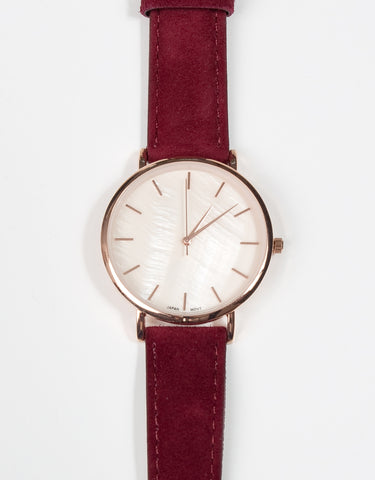 Siena Watch - Bordeaux