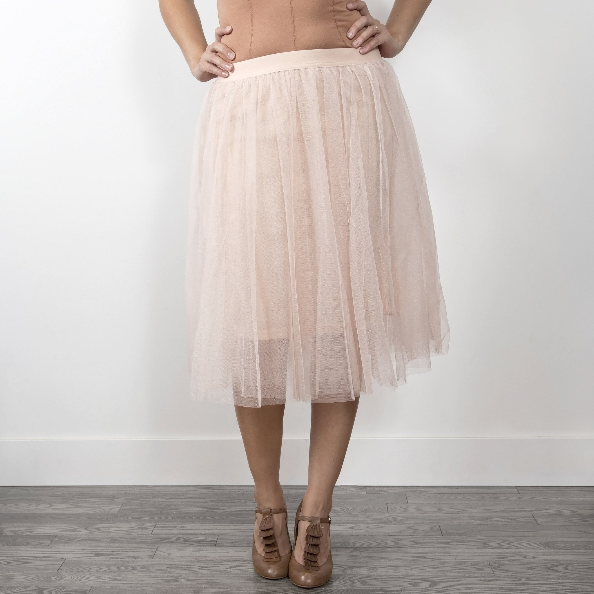 Carrie Tulle Skirt - Blush