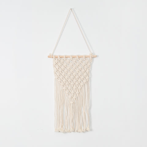 Willow Macrame Toss Cushion