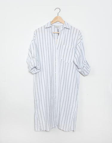 Andie Shirt Dress - White