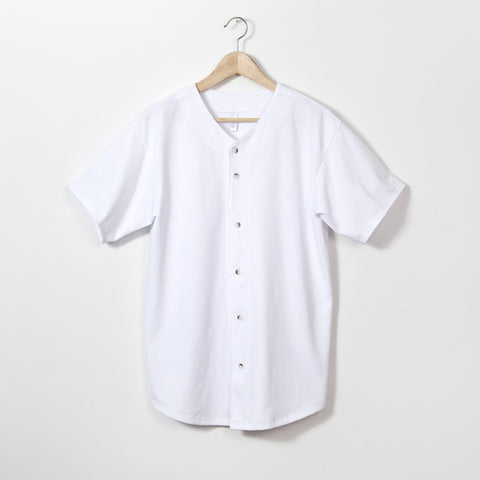 Nix Jersey Shirt - White